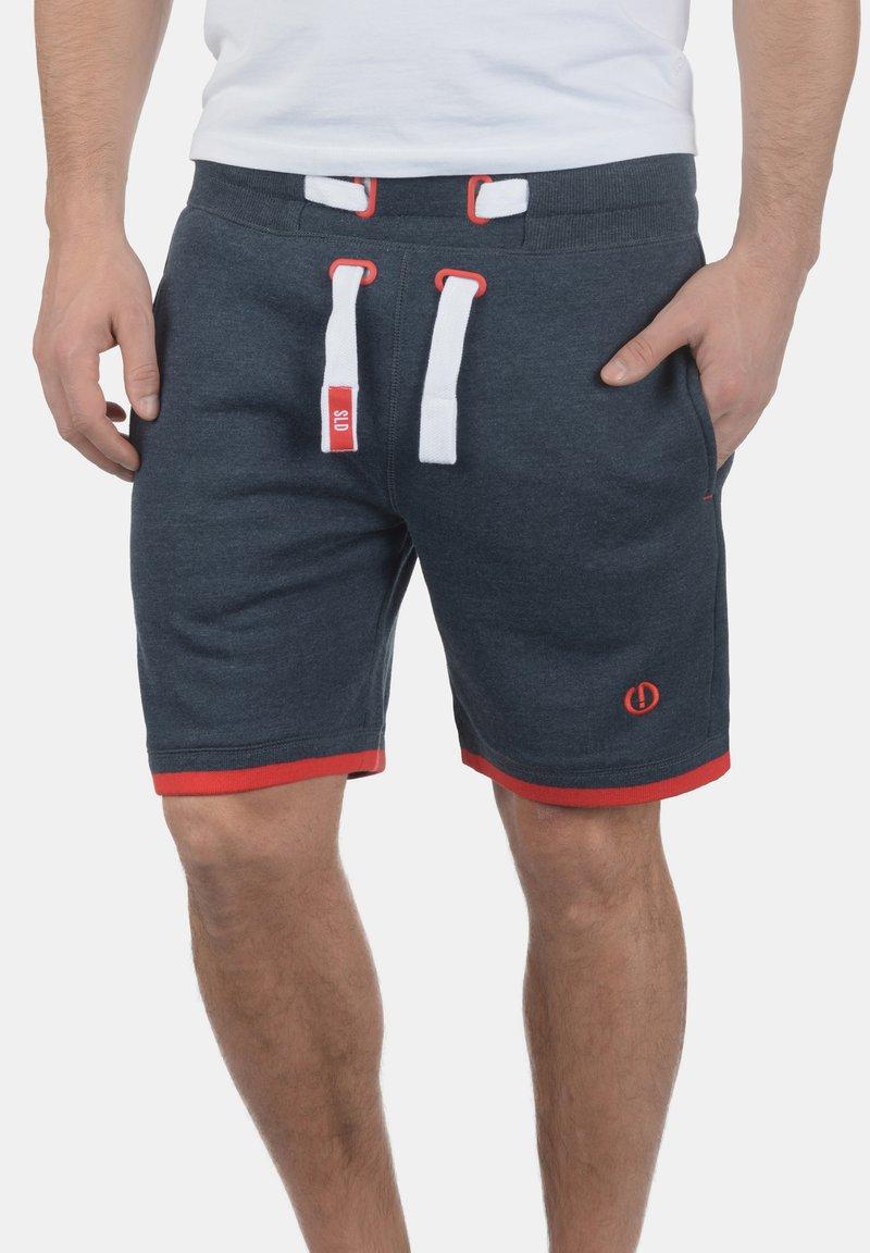 Solid - BENJAMIN  - Shorts - blue melange