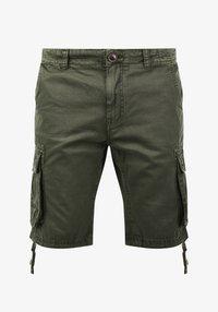 Solid - VIZELA - Shorts - ivy green - 3