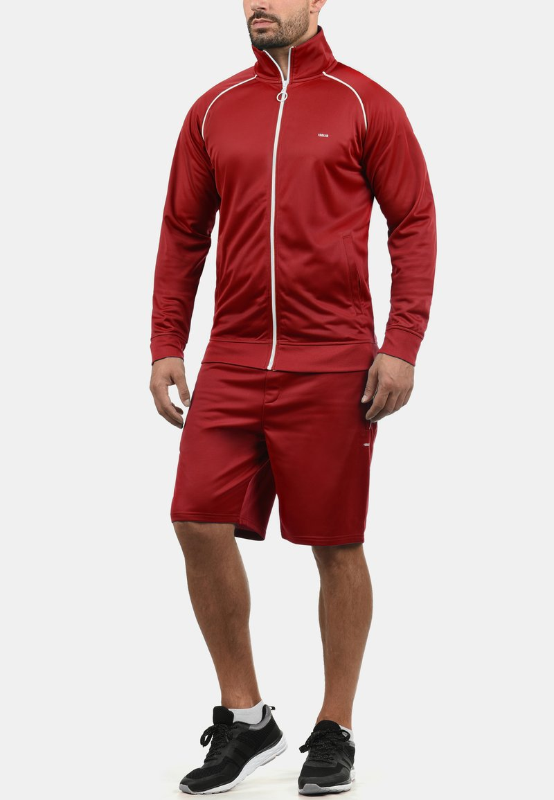 Solid - LEANDO - Shorts - red