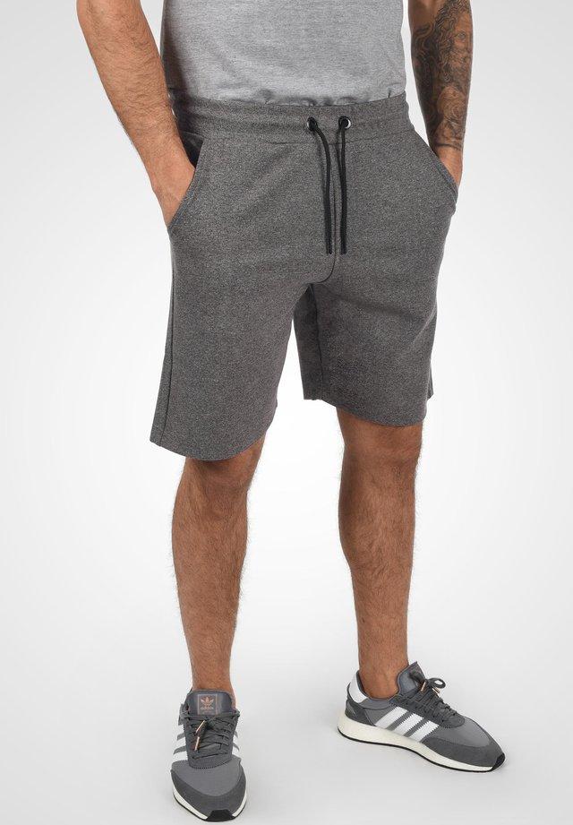 STEVEN - Shorts - dark grey melange
