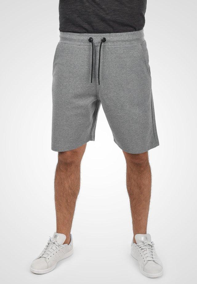 STEVEN - Shorts - grey melange
