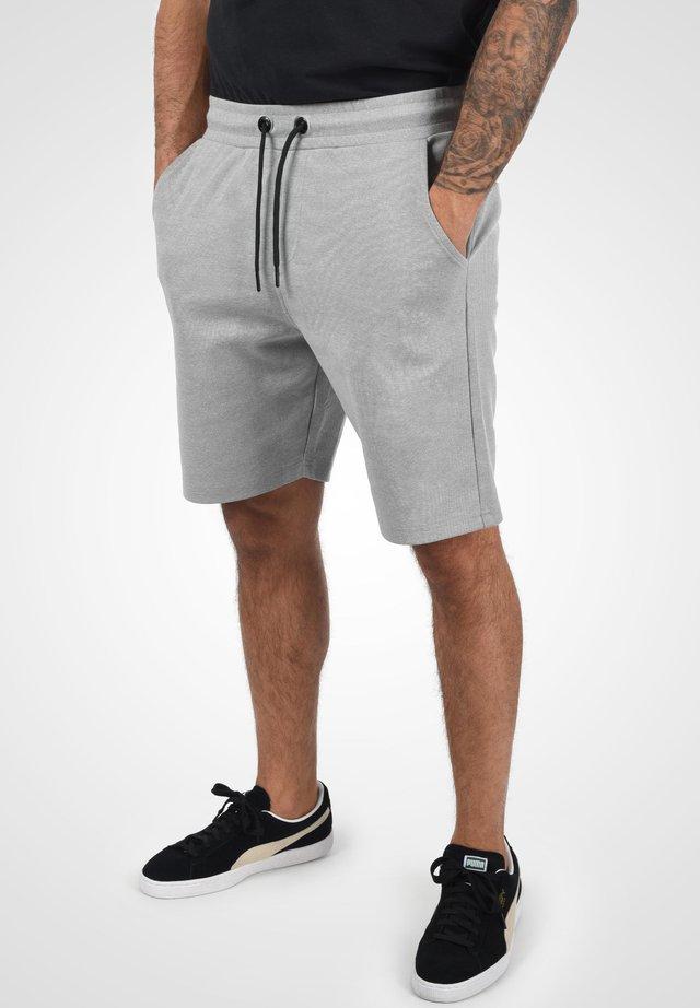 STEVEN - Shorts - light grey melange