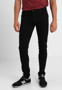 Solid - DEXTER - Jeans Skinny - black denim - 0