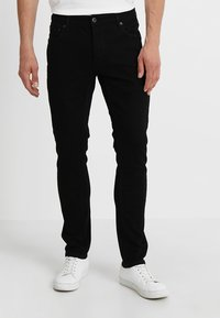 Solid - JOY - Slim fit jeans - black denim - 0