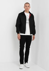Solid - JOY - Slim fit jeans - black denim - 1