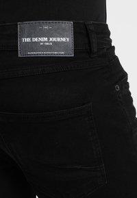 Solid - JOY - Jean slim - black denim - 5