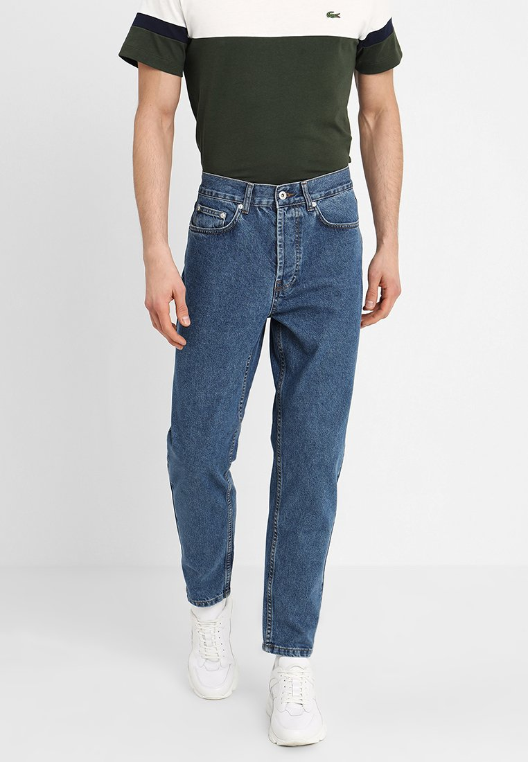 Solid - TAPERED DAD FIT - Jeans Tapered Fit - mid blue