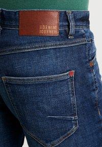 Solid - JOY  - Slim fit jeans - light-blue denim - 5