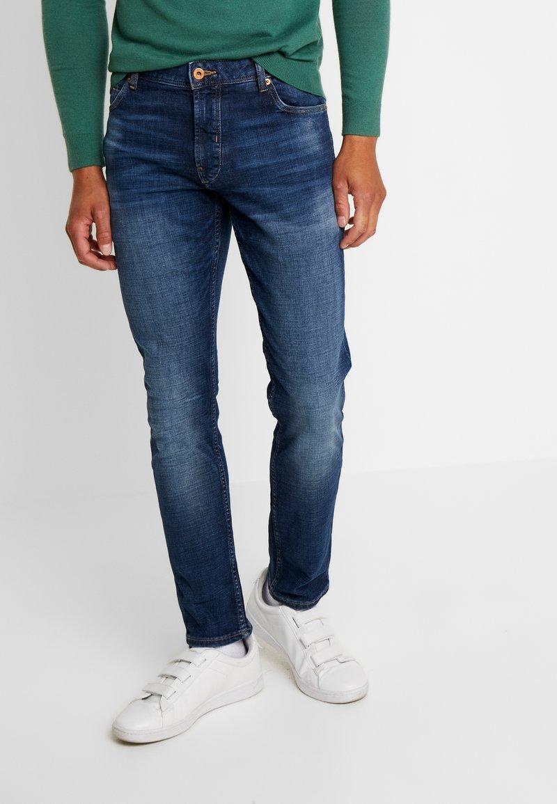 Solid - JOY  - Slim fit jeans - light-blue denim