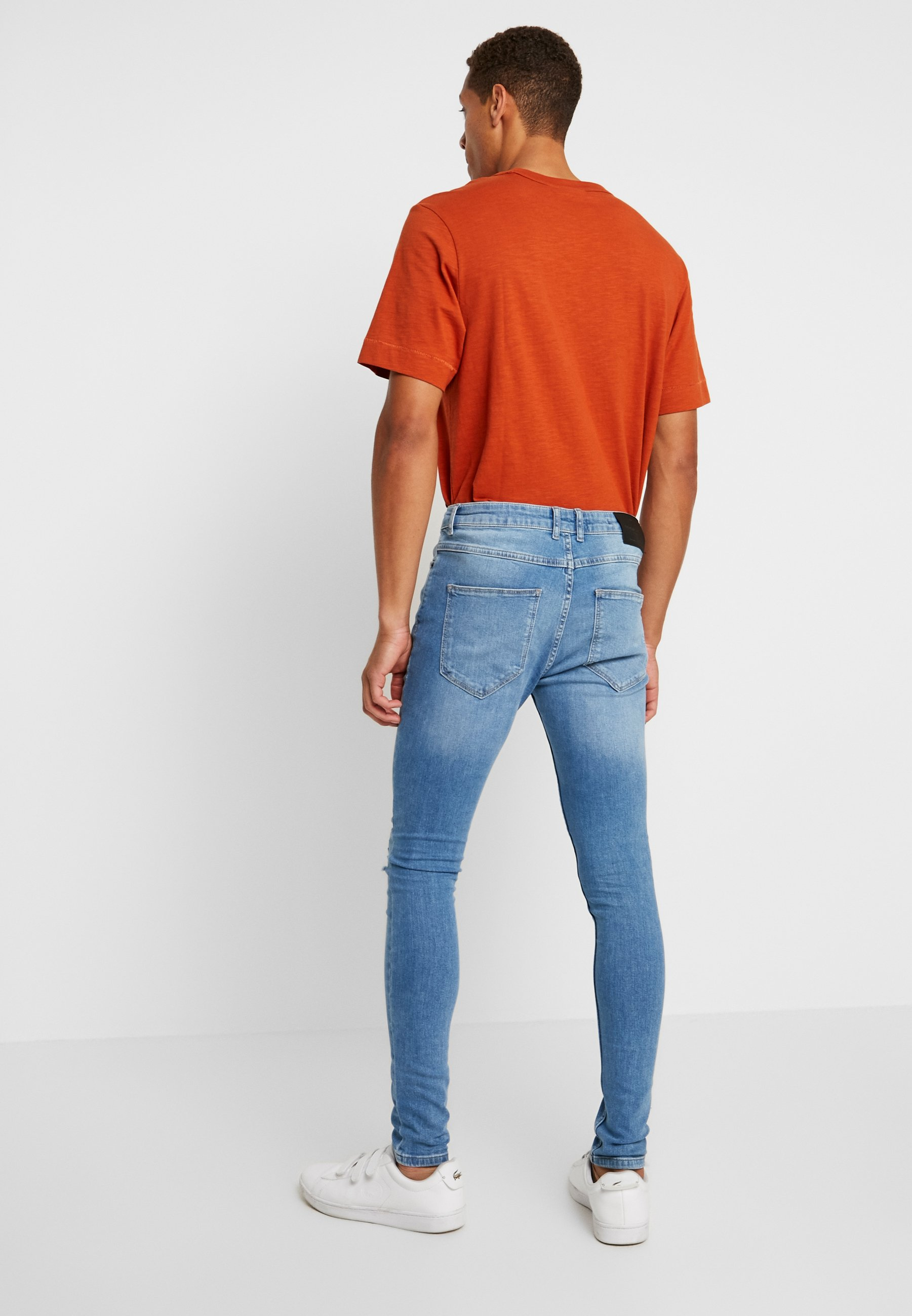 Solid SkinnyJeans Light Fit Super Stan Blue reoBdxQCW