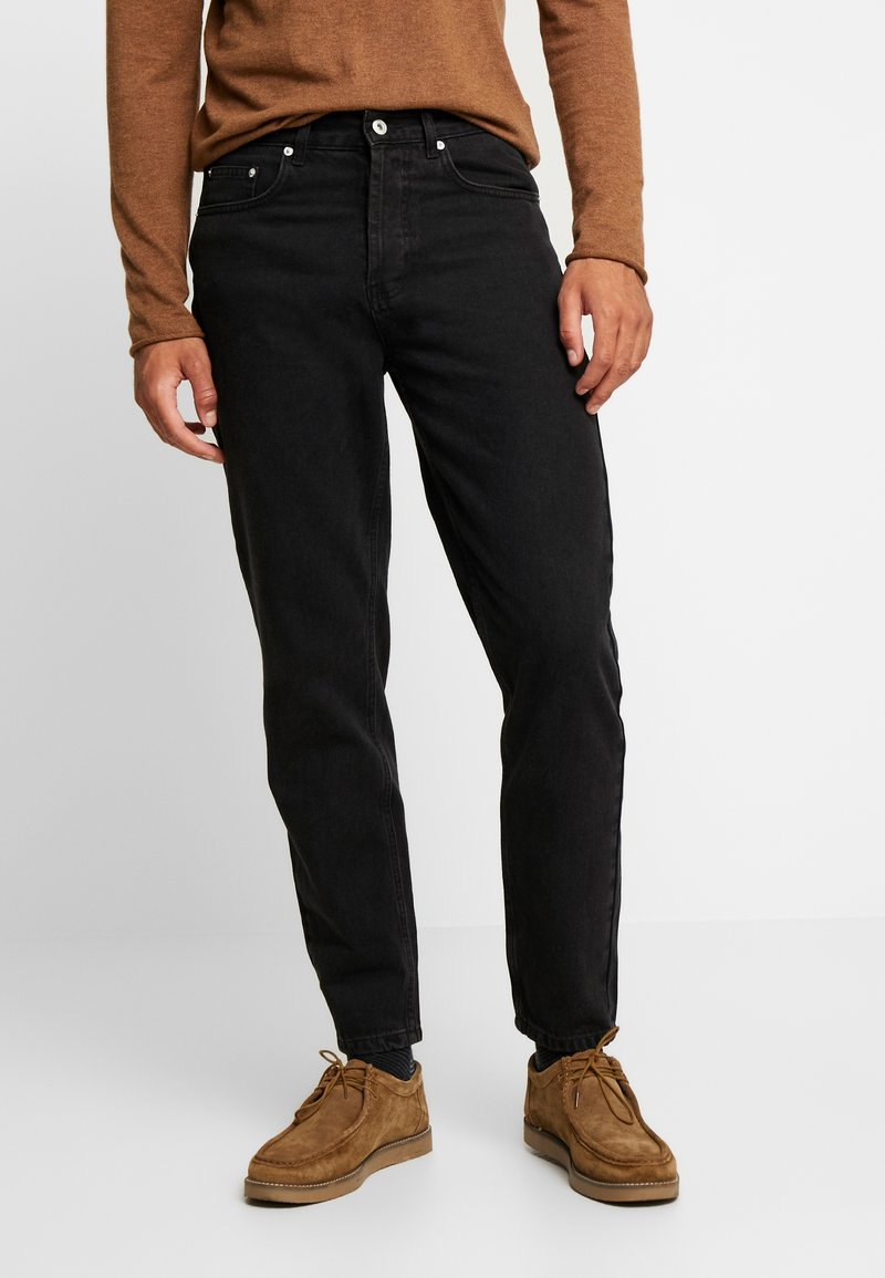 Solid - DAD - Jeans Tapered Fit - black