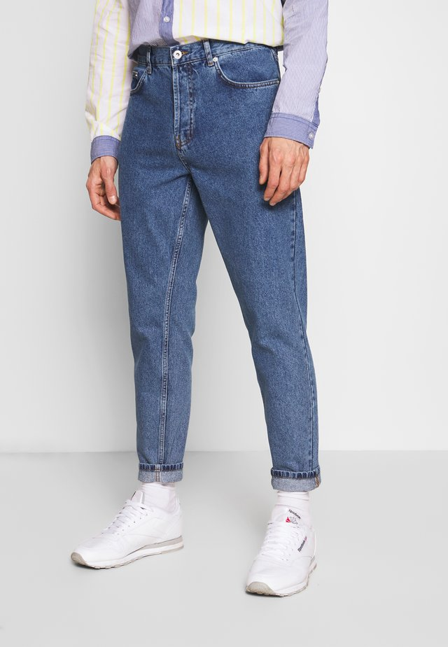 DAD FIT - Jeans Tapered Fit - blue