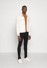 Solid - SUPERSKINNY SCOTT - Jeans Skinny - black denim - 1