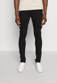 Solid - SUPERSKINNY SCOTT - Jeans Skinny - black denim - 0