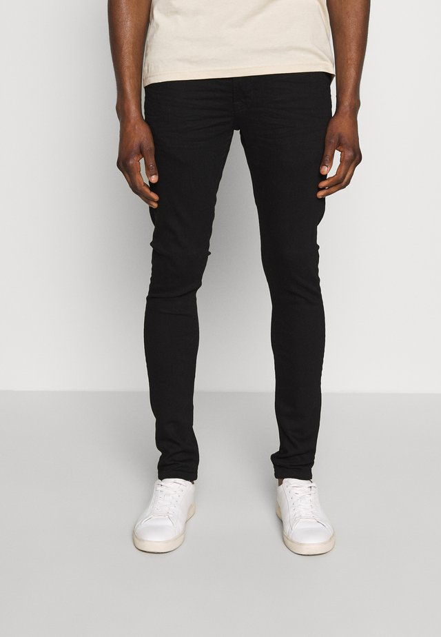 SUPERSKINNY SCOTT - Skinny džíny - black denim