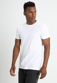 Solid - ROCK SOLID - Basic T-shirt - white - 0