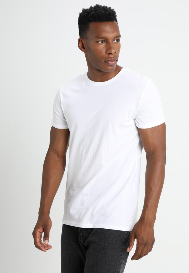 ROCK SOLID - T-shirts - white