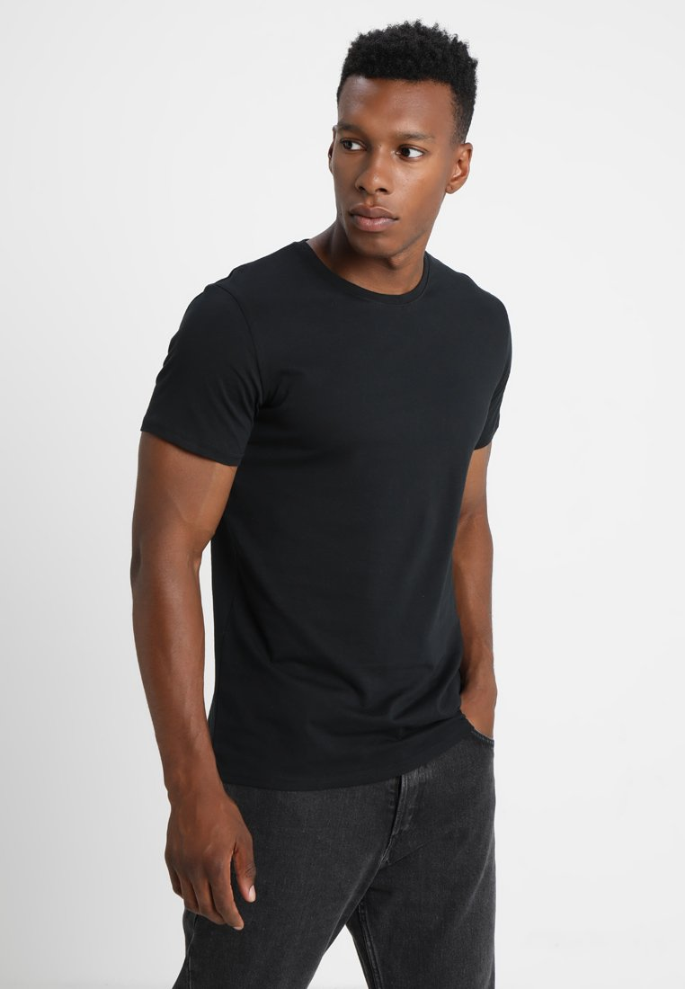 Solid - ROCK SOLID - Basic T-shirt - black