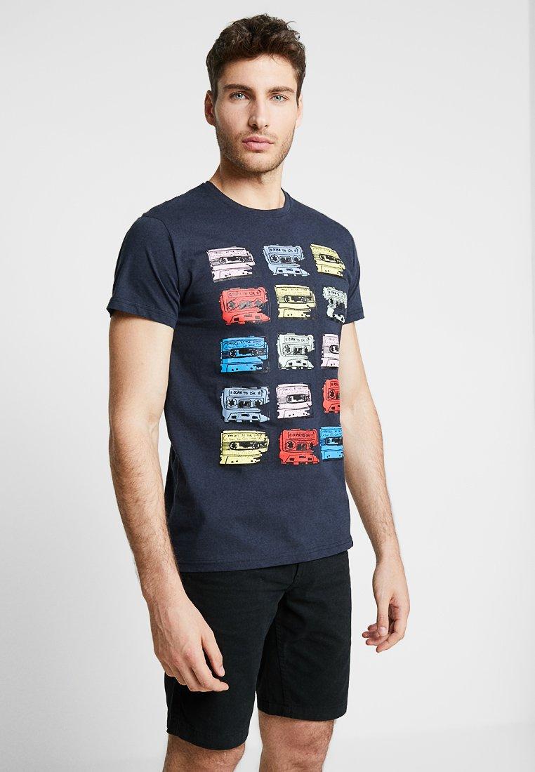 Solid - CARTER - Camiseta estampada - insignia blue