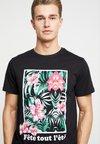 Solid - COLO - T-Shirt print - black
