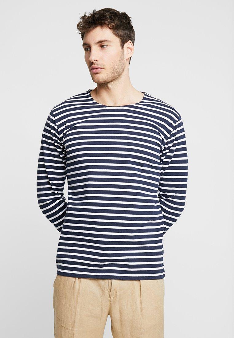 Solid - THUNE - Bluzka z długim rękawem - insignia blue