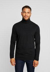 Solid - TED ROLLNECK - Langærmede T-shirts - black - 0