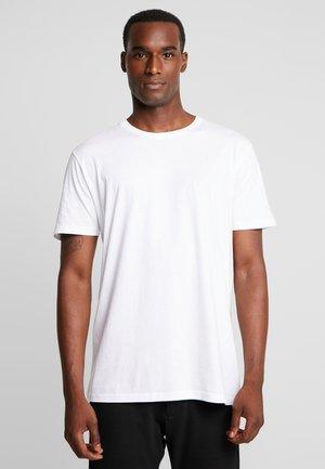 ROCK  - Jednoduché triko - white