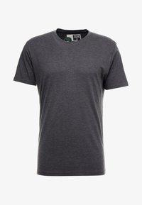 Solid - ROCK  - T-shirt basique - dark grey melange - 4