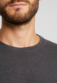 Solid - ROCK  - T-shirt basique - dark grey melange - 5