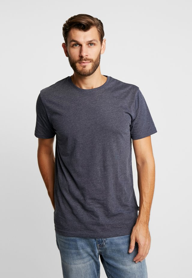 ROCK  - T-shirts basic - navy melange