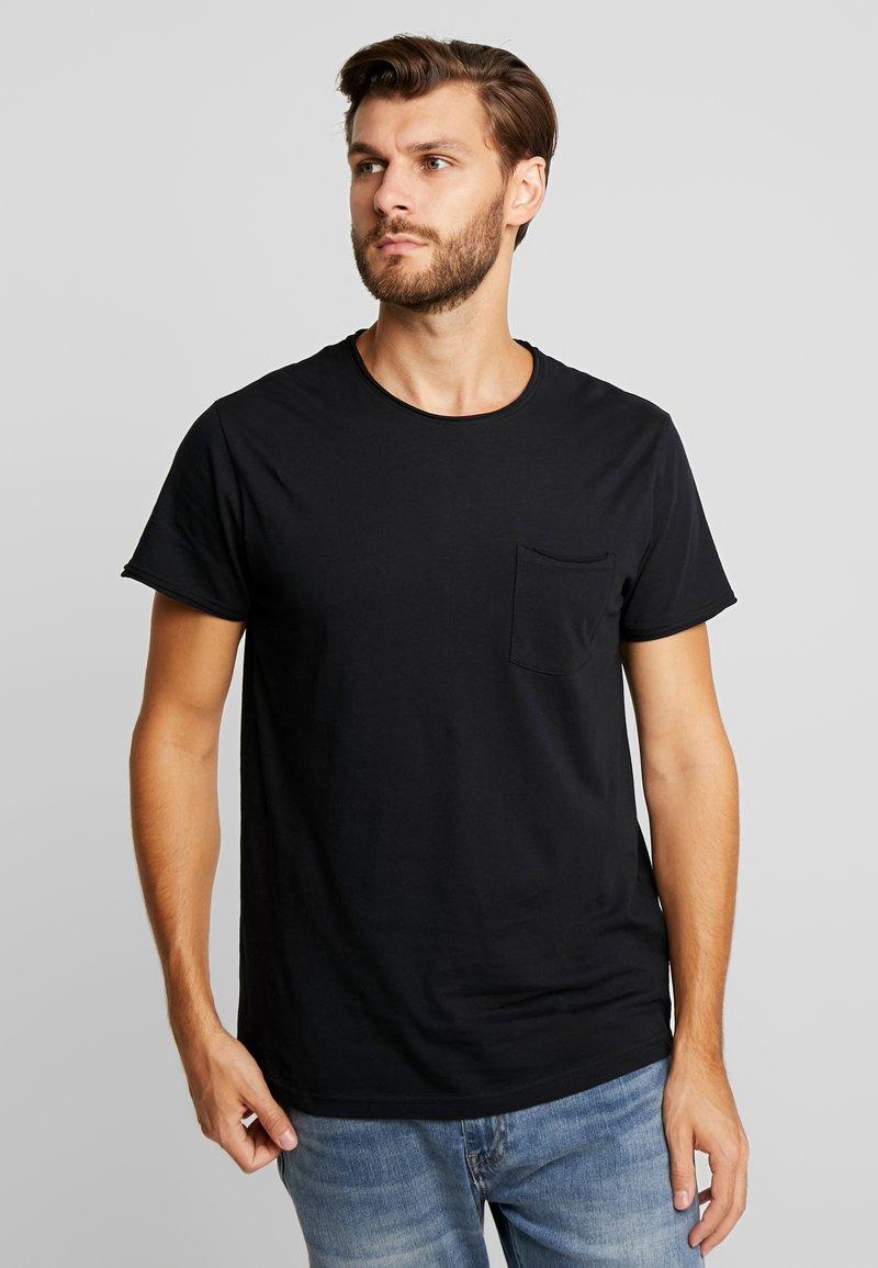 Solid - GAYLIN - T-shirts - black