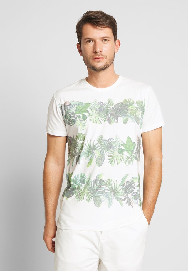 HERMAN - T-shirt imprimé - offwhite