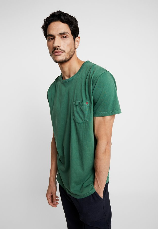 FELIN - Basic T-shirt - huntergreen