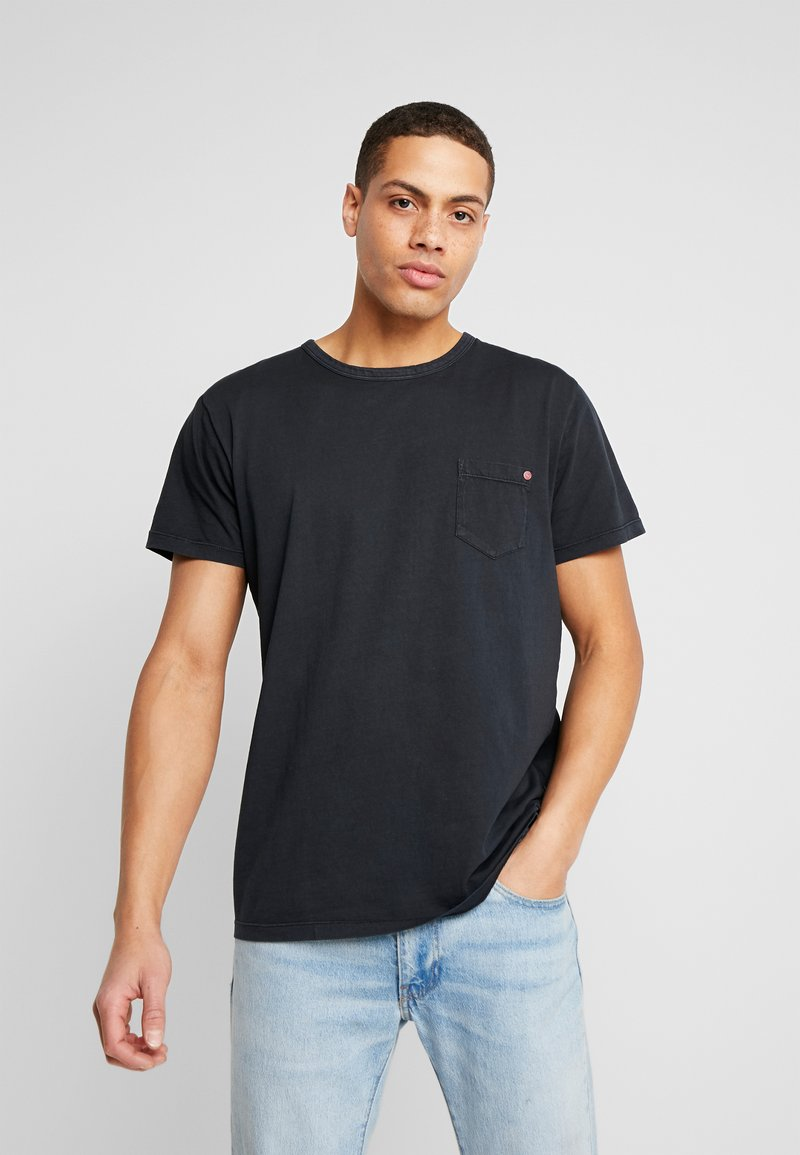 Solid - FELIN - T-shirt basic - black
