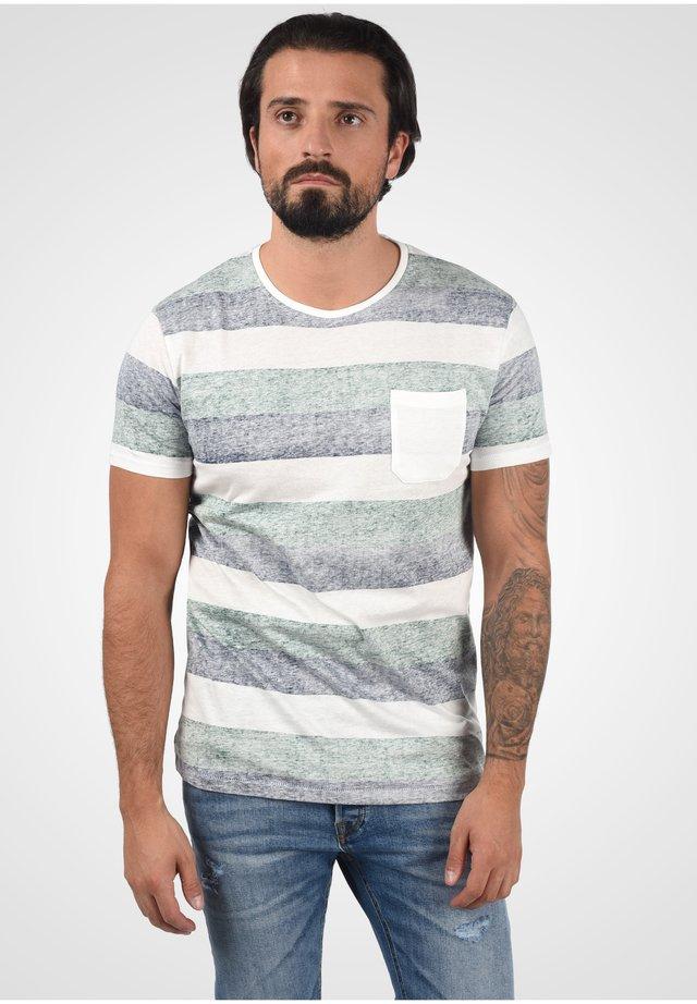 HEINRICH - Print T-shirt - huntergree