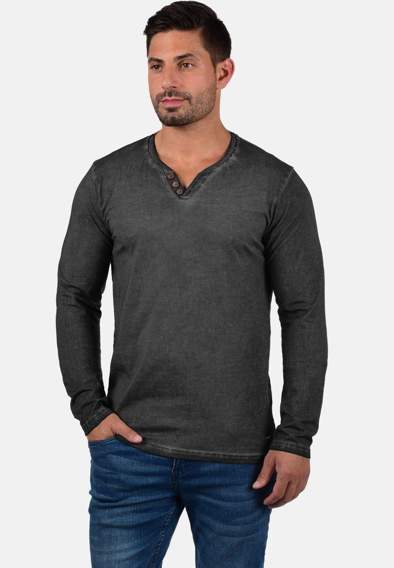 Solid - TINOX - Long sleeved top - black