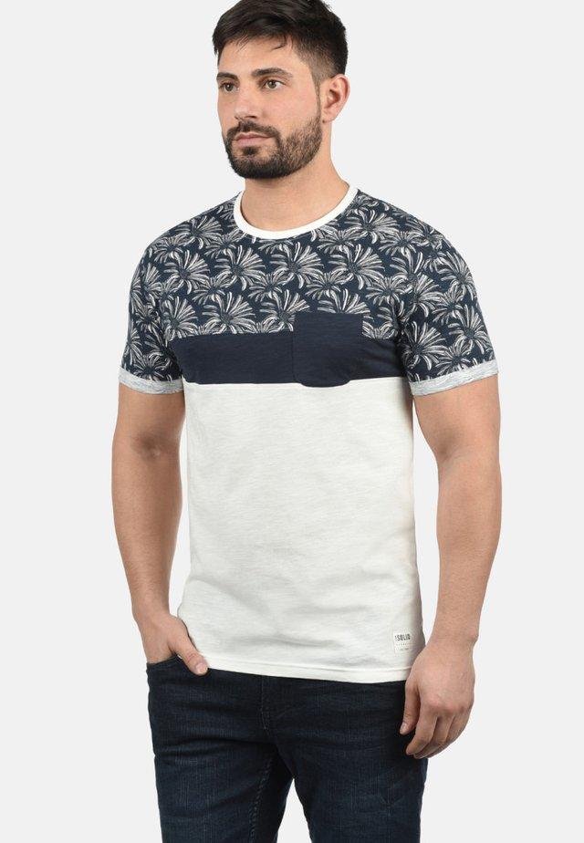 FLORIAN - Print T-shirt - dark blue