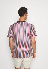 Solid - KANE STRIPE - Print T-shirt - gray blue - 2