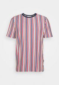 Solid - KANE STRIPE - Print T-shirt - gray blue - 4