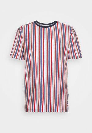 KANE STRIPE - Print T-shirt - gray blue
