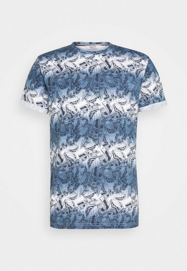 KEATON LEAF - T-shirts med print - insignia blue
