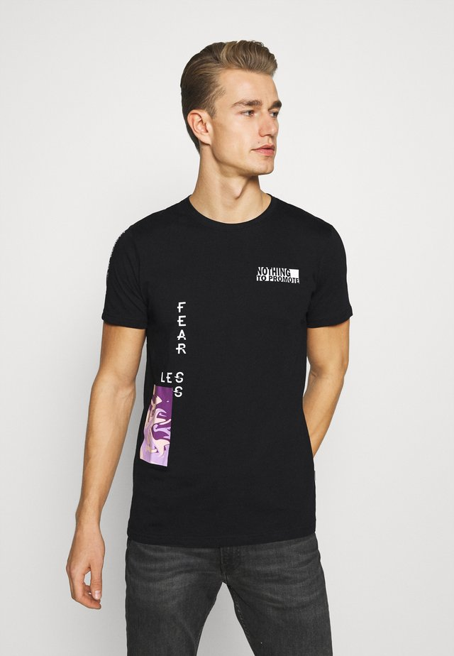 PRINTED  - T-shirt con stampa - black