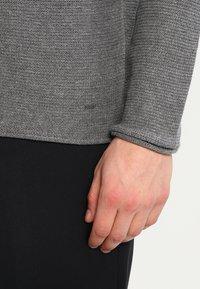 Solid - JARAH - Stickad tröja - grey melange - 4