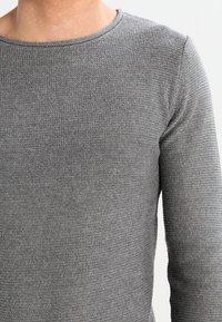 Solid - JARAH - Stickad tröja - grey melange - 3