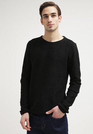 JARAH - Sweter - schwarz