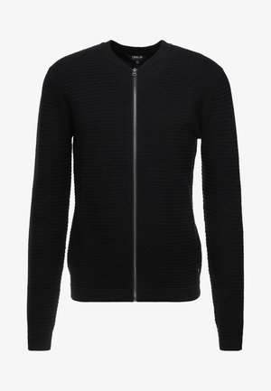 SHAD - Strickjacke - black