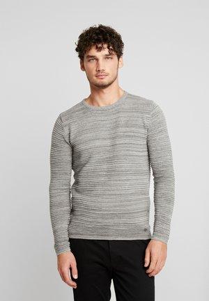 STRUAN - Stickad tröja - grey melange