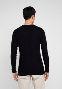 Solid - SHAD ONECK - Sweter - black - 2