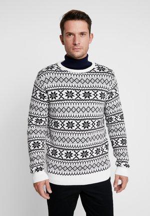 TESLIN - Sweter - white
