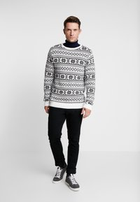 Solid - TESLIN - Jumper - white - 1